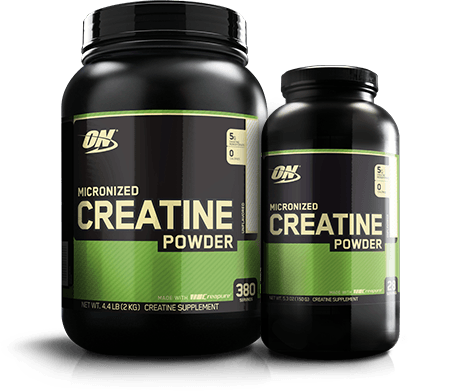 Creatine monohydrate optimum nutrition