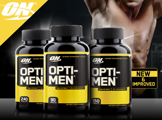 Opti-Men- A Multivitamin Designed for Men | Bodybuilding com