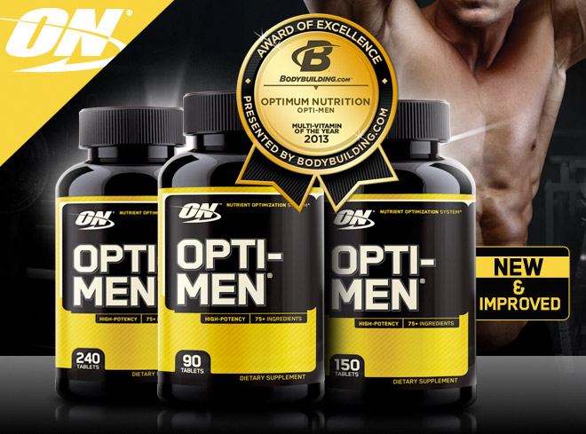 Optimum Opti-Men at Bodybuilding.com: Best Prices for Opti-Men
