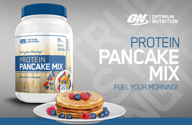 Image result for Optimum Nutrition Protein Pancake Mix