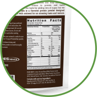 Nutrition facts for protein 4 oats