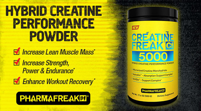 Creatine Freak 5000 by PharmaFreak at Bodybuilding.com - Best Prices on Creatine Freak 5000!