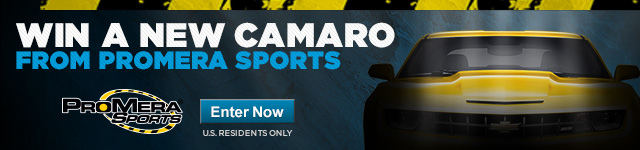WIN A NEW CAMARO FROM PROMERA SPORTS. Enter Now. US Residents Only.