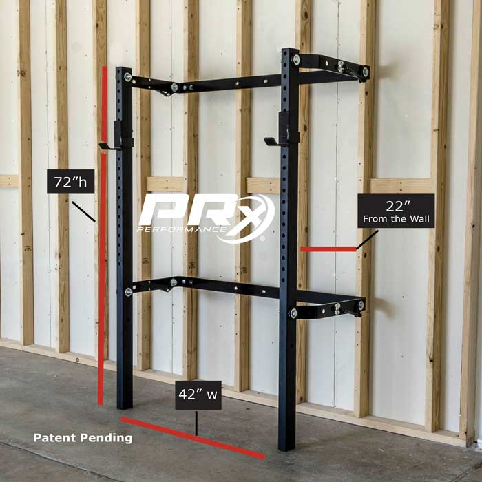 Prx performance profile squat rack at bodybuilding
