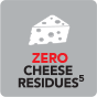Zero Cheese Residues