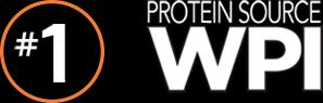 #1 Protein Source: WPI