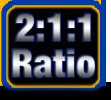 2:1:1 Ratio