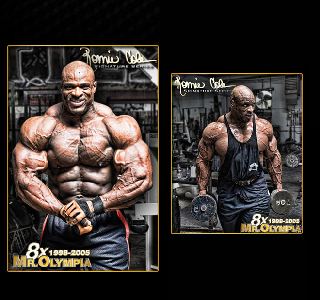 5G Creatine. 2.5G Betaine. 29G Protein. Ronnie Coleman Signature Series. 8x Mr. Olympia.