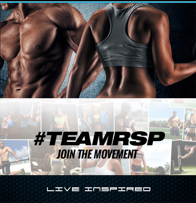 #TeamRSP - Join the movement. Live Inspired.