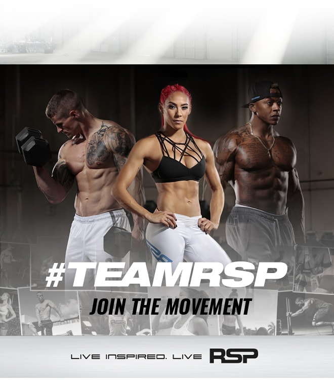 TeamRSP. Join The Movement. Live Inspired. Live RSP.