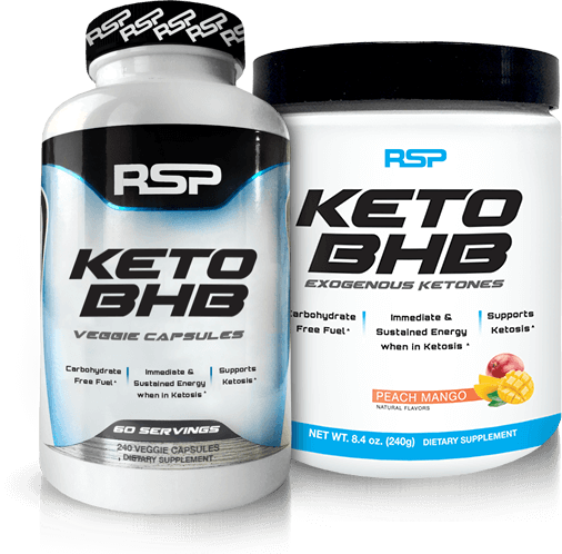 KetoBHB Pills & Powder Containers