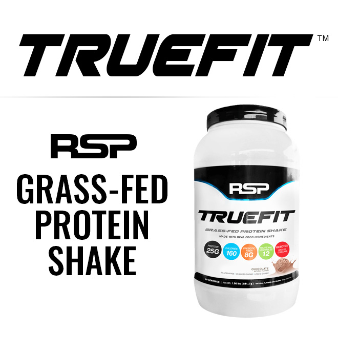Truefit. RSP GRASS-FED PROTEIN SHAKE.