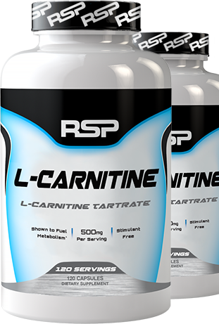 RSP L-Carnitine 120 servings bottle