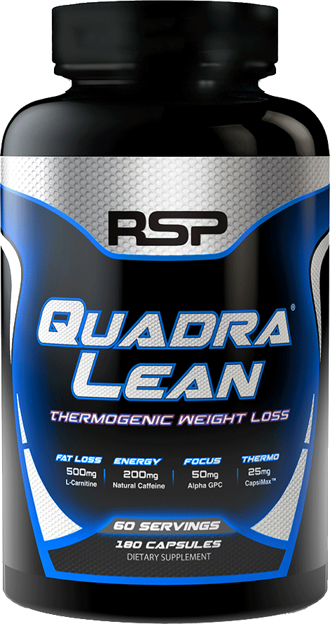 Rsp Nutrition Quadralean Thermogenic 180 Caps Weight Loss
