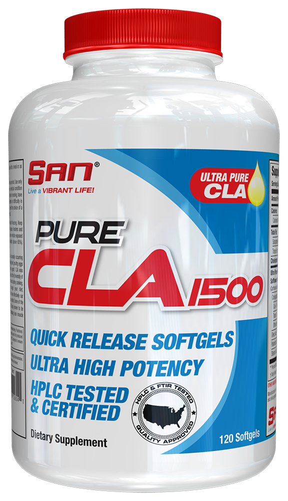 Pure CLA 1500 By SAN Nutrition At Bodybuilding.com!