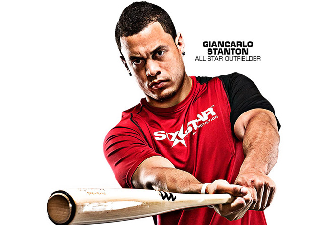 Giancarlo Stanton All-Star Outfielder