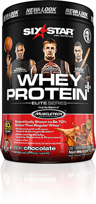 Six Star Whey Protein Bottle