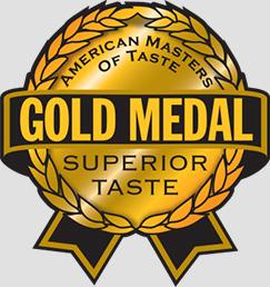 Gold Medal for Superior Taste