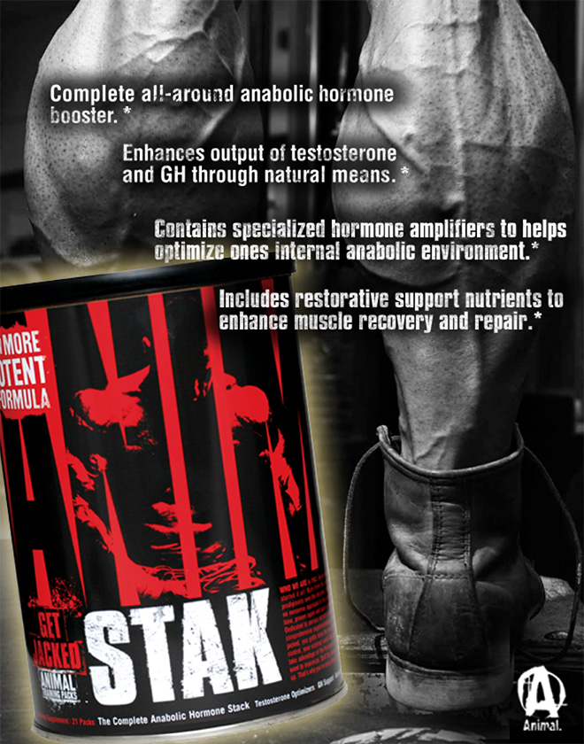 Complete all-around anabolic hormone booster.* Enhances output of testosterone and GH through natural means.* Contains specialized hormone amplifiers to help optimize one internal anabolic environment.* Includes restorative support nutrients to enhance muscle recovery and repair.