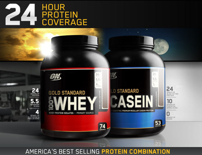 24 Hour Protein Coverage. Ameria's Best Selling Protein Combination