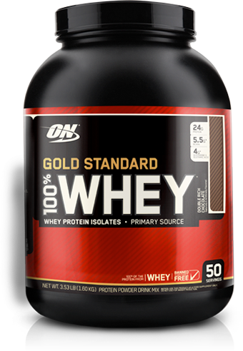 Gold Standard 100% Whey. Whey Protein Isolates.