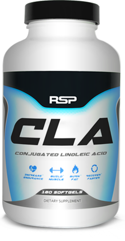 RSP Nutrition Conjugated Linoleic Acid. 180 Softgels.