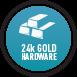 24k Gold Hardware