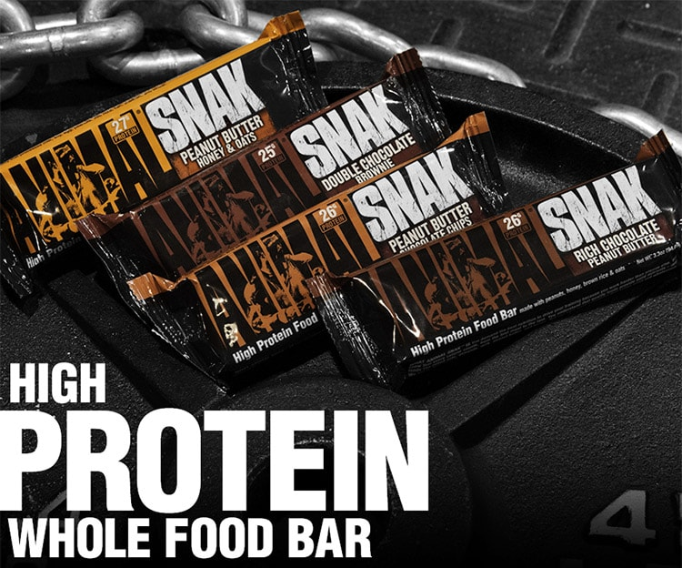 Animal Snak. High Protein Whole Food Bar.