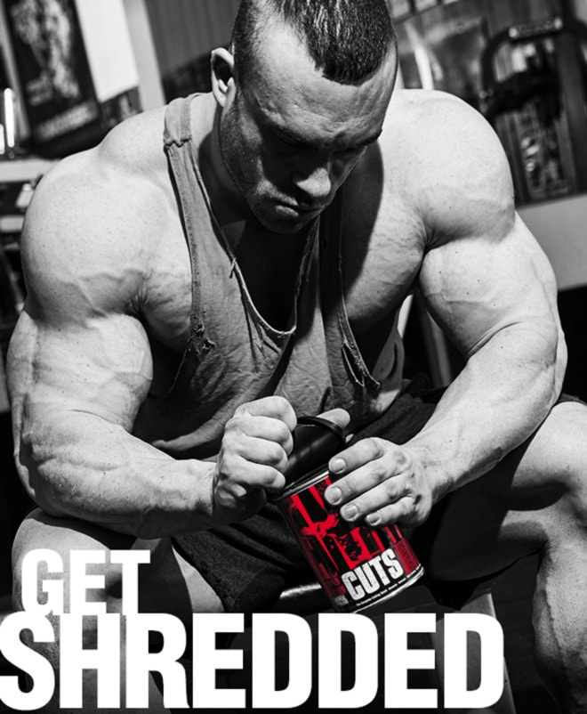 Universal Nutrition Animal Cuts. Get Shredded