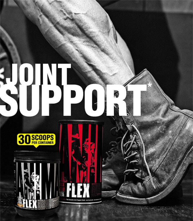 Universal Nutrition Animal Flex Powder. Joint Support. 30 Scoops Per Container