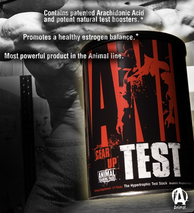 Animal Test by Universal Nutrition at Bodybuilding.com