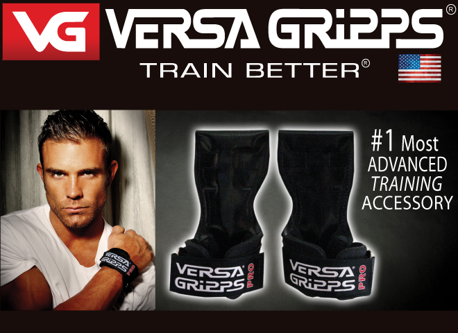 Versa Gripps. Train Better. Number 1 Most Advanced Training Accessory.