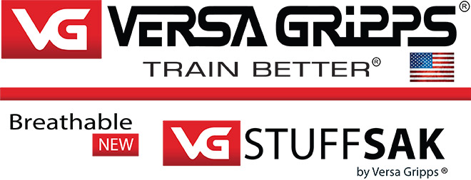 Versa Gripp. Train Better. Brethable StuffSak.