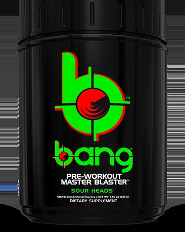 Bang. Pre-Workout Master Blaster.
