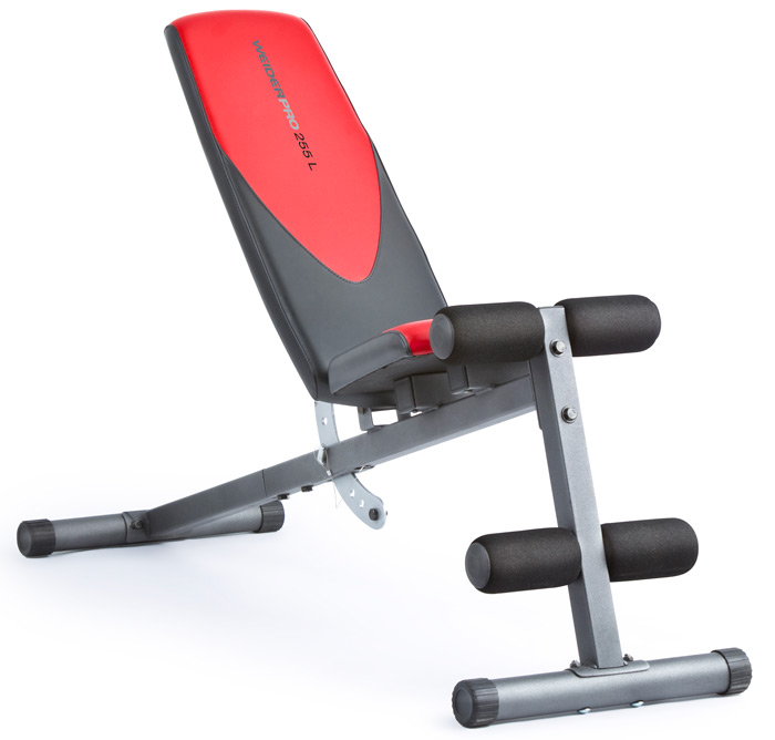 Weider Pro 255 L Bench At Best Prices On Pro 255 L Bench