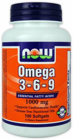 Now Foods Omega 3 6 9 Essential Fatty Acids Bodybuilding Com