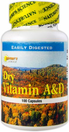 Dry Vitamin A&D