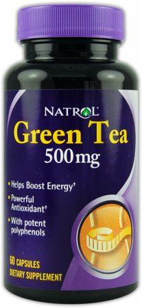 Image of Natrol Green Tea 500mg/60 Capsules