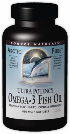 Source naturals arcticpure ultra potency omega 3 fish oil for Fish oil for bodybuilding