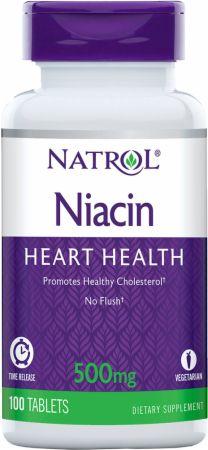 Niacin Time Release