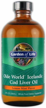 Garden Of Life Olde World Icelandic Cod Liver Oil At Best Prices For Olde