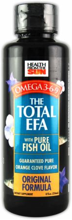 Hfs the total efa with pure fish oil at for Fish oil for bodybuilding
