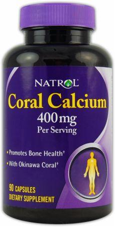 Image of Natrol Coral Calcium 90 Capsules