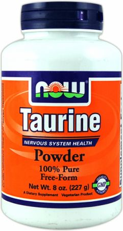 Foods with taurine