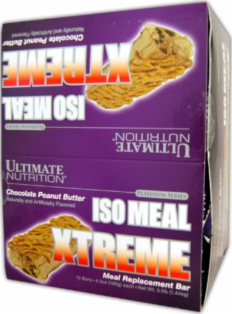 Iso Meal Xtreme Meal Replacement Bar