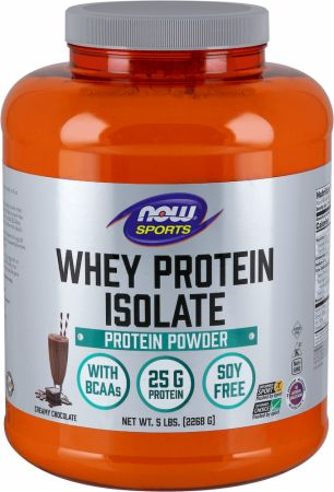 NOW Whey Protein Isolate 5 Lb