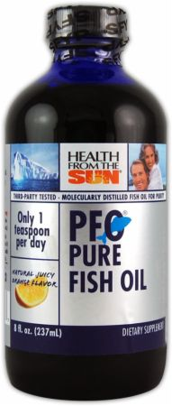 Health from the sea pfo pure fish oil liquid at for Where does fish oil come from