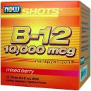 NOW B-12 10,000 Mcg High Energy Shots