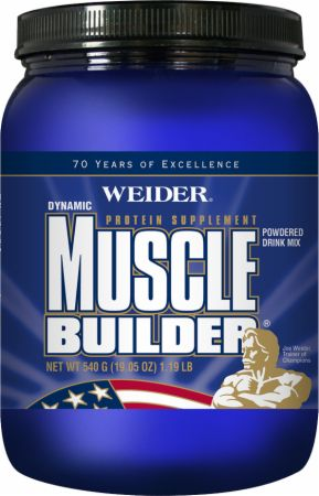 Weider Muscle Builder