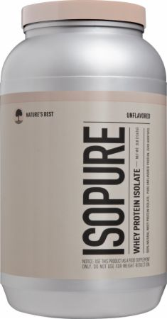 Isopure Whey Protein Isolate by Nature's Best at